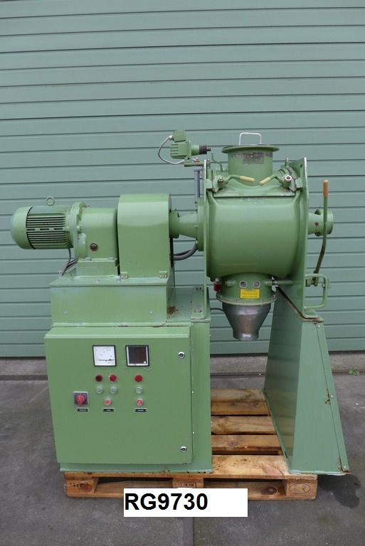 80 Litre Lödige FM-80 D 1Z Stainless Steel Mixer