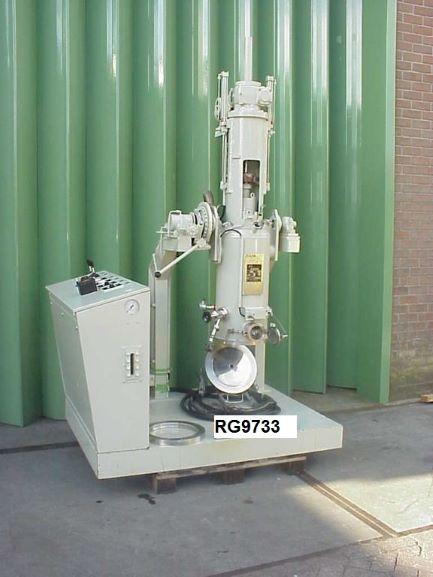 0.07 Sq. M. Seitz model EFT 30.52 Stainless Steel Nutsche Filter Dryer