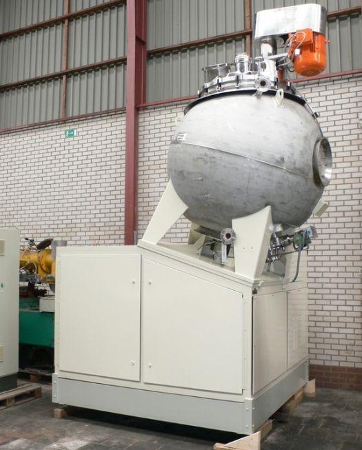 Used Moritz TSI-2000 turbo sphere dryer