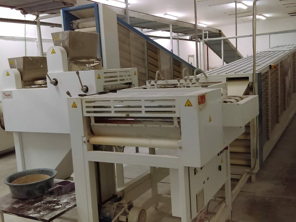 Pita Bread Line with Capacity 8000 Pieces/Hour