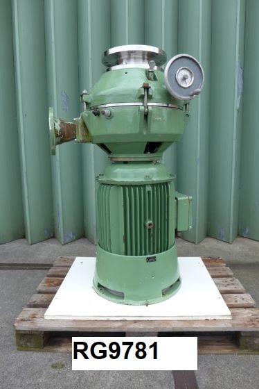 Used Fryma MK-360 In-line Colloid Mill