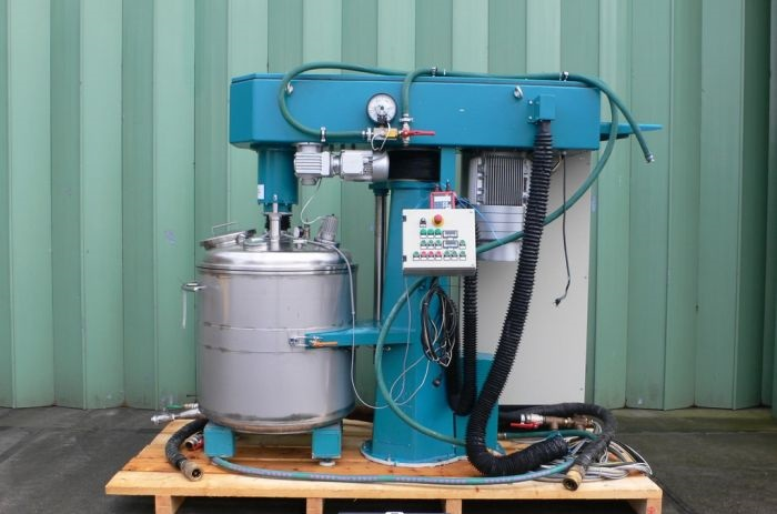 Used stainless steel 400 litre Coatema Coating Dissolver