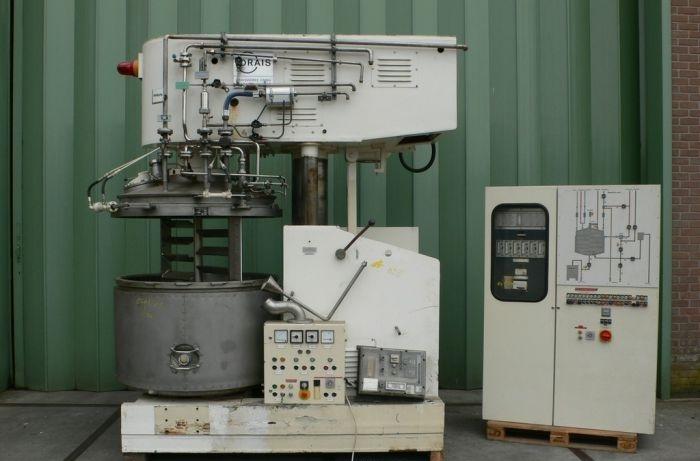 38 kW Drais Stainless Steel Dissolver