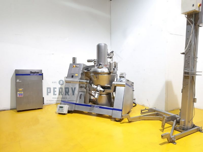 150 Liter Stephan UM/SK Double Jacketed Universal Process Mixer