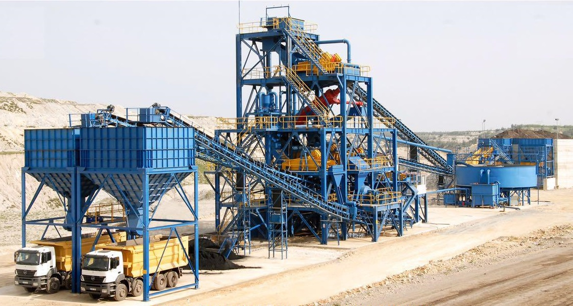 Coal Wash Plant with Capacity 450 Tons / Hour