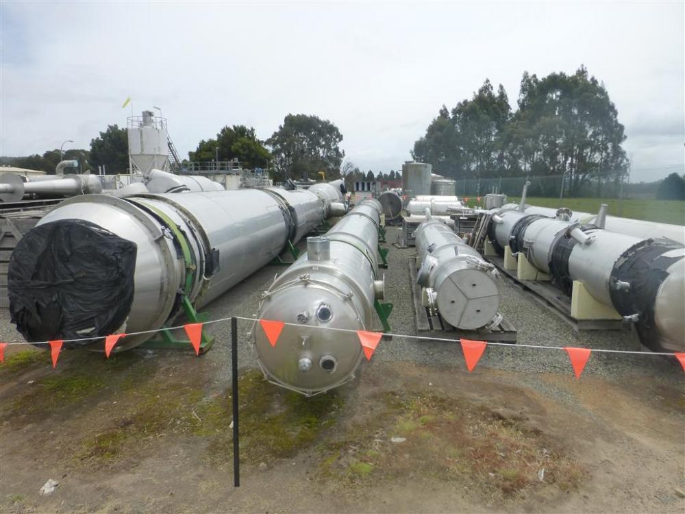 3-Effect Milk Evaporator System Niro