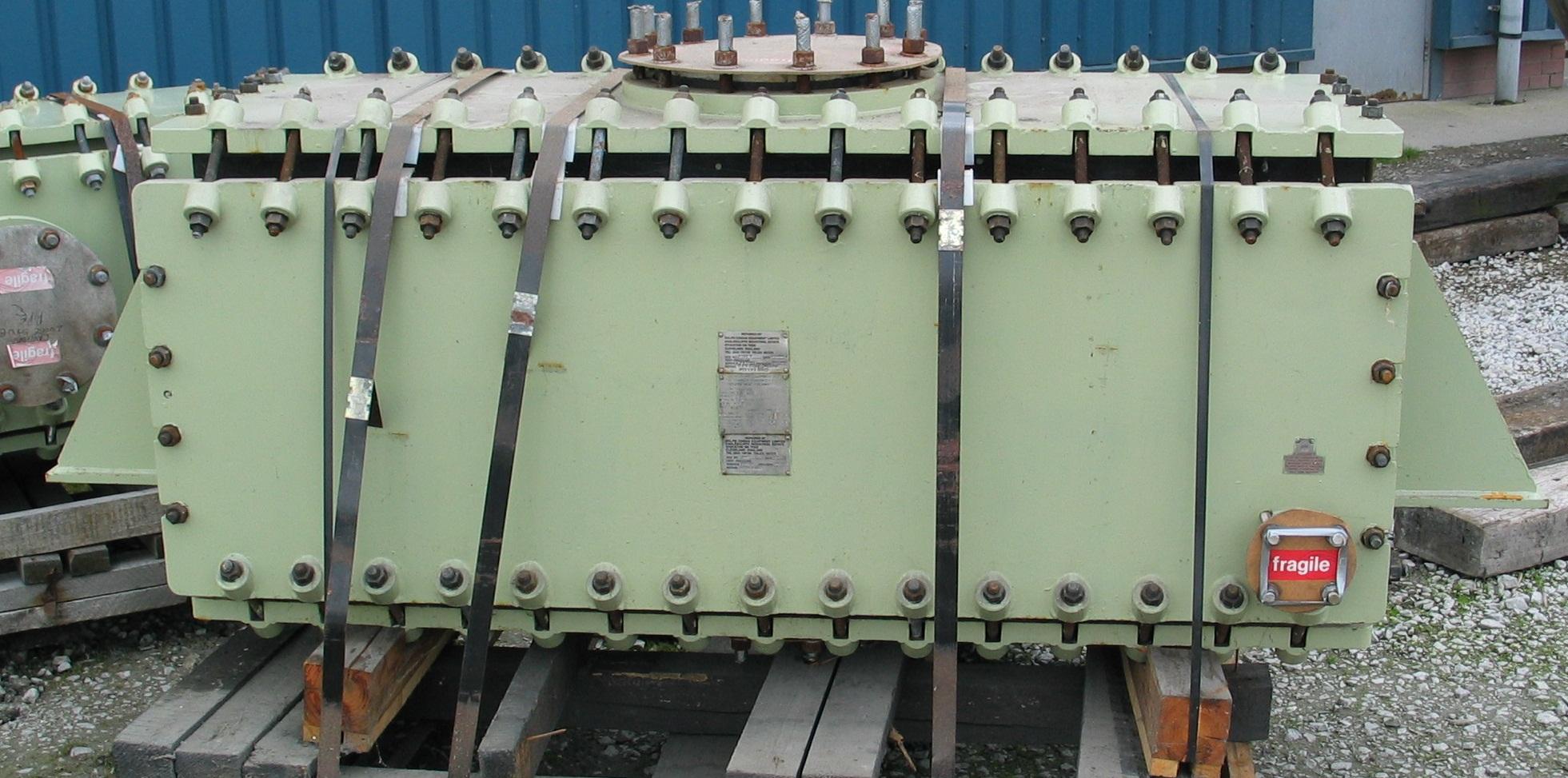 30 Sq. Meter Ralph Coidan V Graphite Block Heat Exchanger