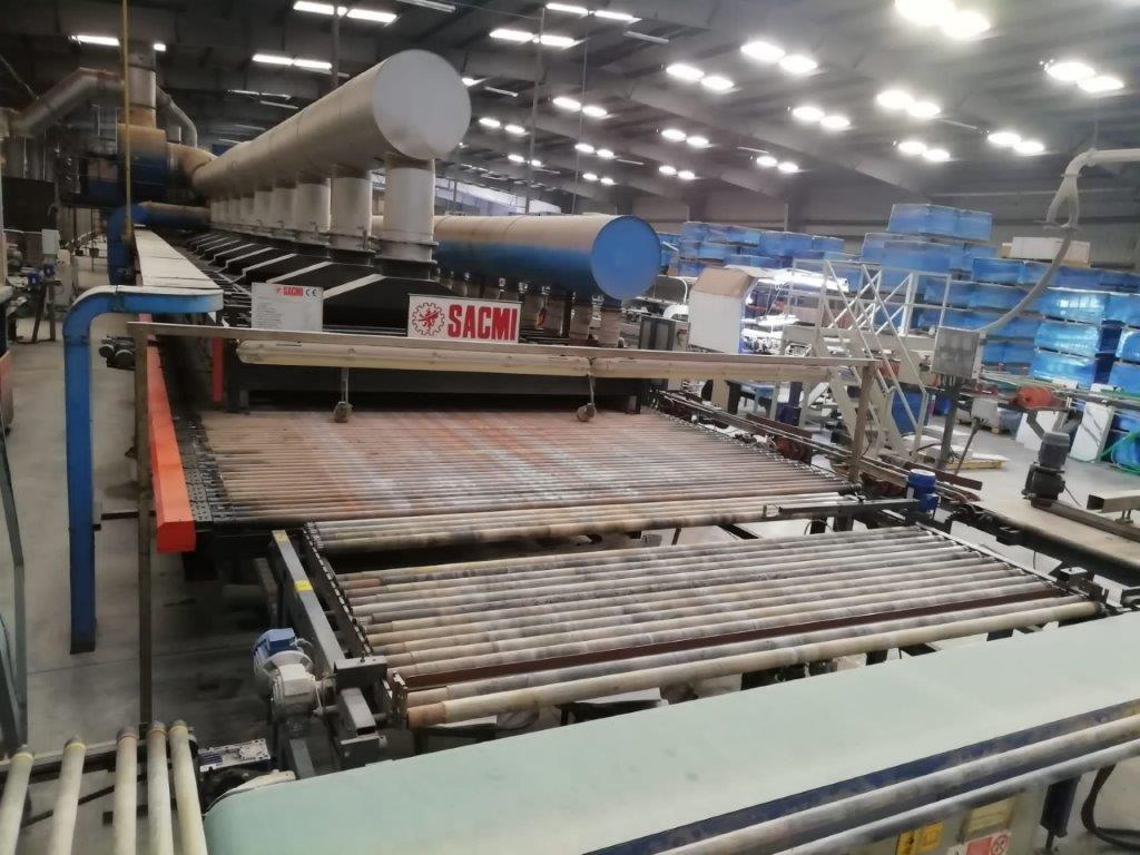 Tiles Factory with Capacity 7700 m2/day
