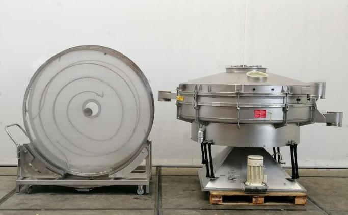 1770 mm, 2 Deck, 3.6 kW, Stainless Steel Allgaier Type TSM 2000/2
