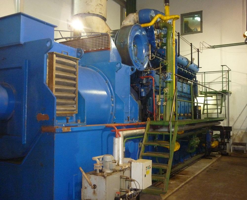13180 kW 6000 Volts 50 Hz Deutz MWM Cogeneration Plant
