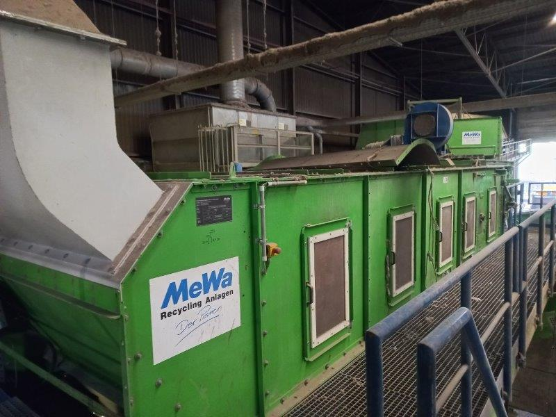 Solid Recovered Fuel (SRF) Sorting Line with Capacity 30-35 tonnes/hour