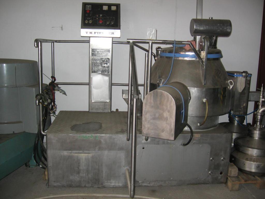 400 Litre Stainless Steel Fielder Pharma Mixer/Granulator