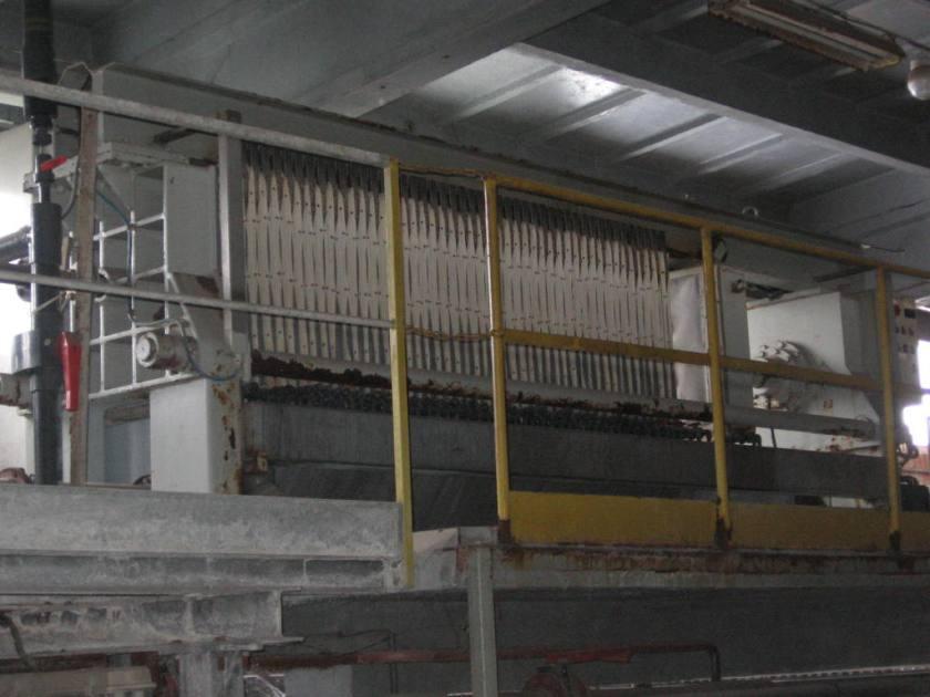 Chamber Filter Press Made By Italprogretti (italy)