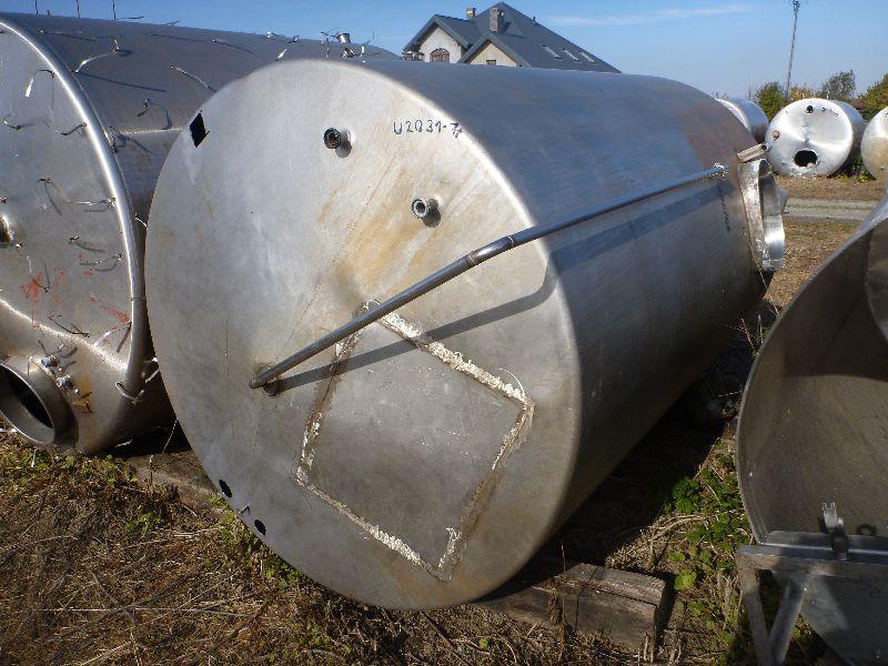 5000 Liters Stainless Steel Vertical Storage Tank