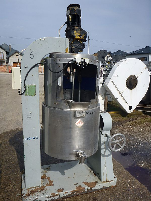 200 Litre Apparatebau Mack Stainless Steel Planetary Mixer