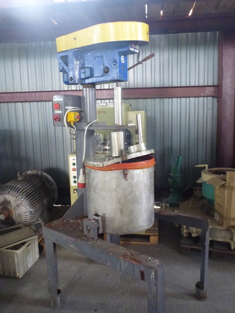 100 Litre Stainless Steel Mixing Tank 510mm x 490mm