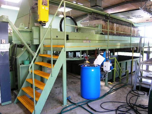 Chamber Filter Press By Filtri Diemme Model Gigante 1500