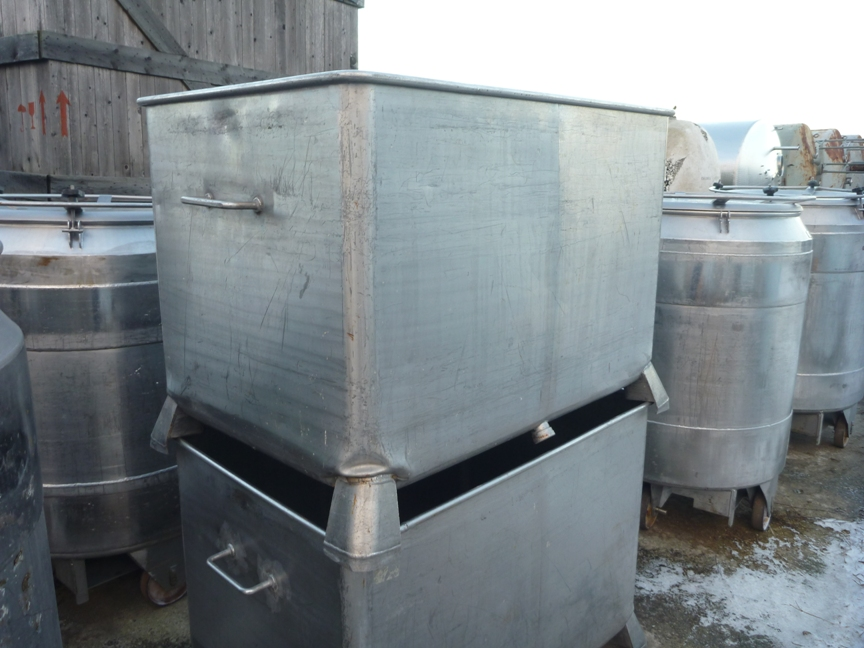 760 Litres Stainless Steel Rectangular Storage Tank 1200mm Wide x 800mm Long x 800mm Deep