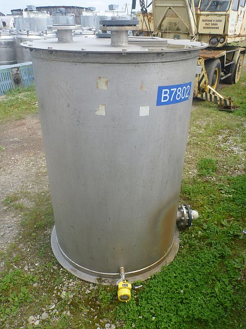 1000 Liters Stainless Steel Vertical Storage Tank