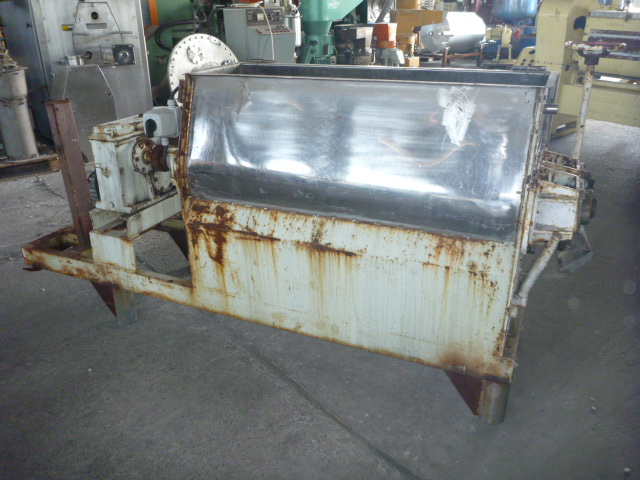 200 Litre Stainless Steel Twin Shaft Paddle Mixer