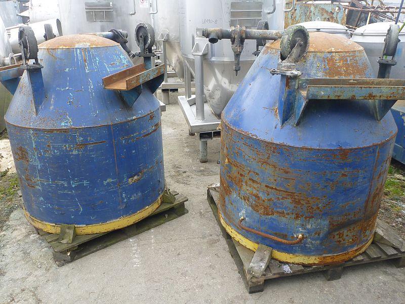 1200 l carbon steel mixing pan