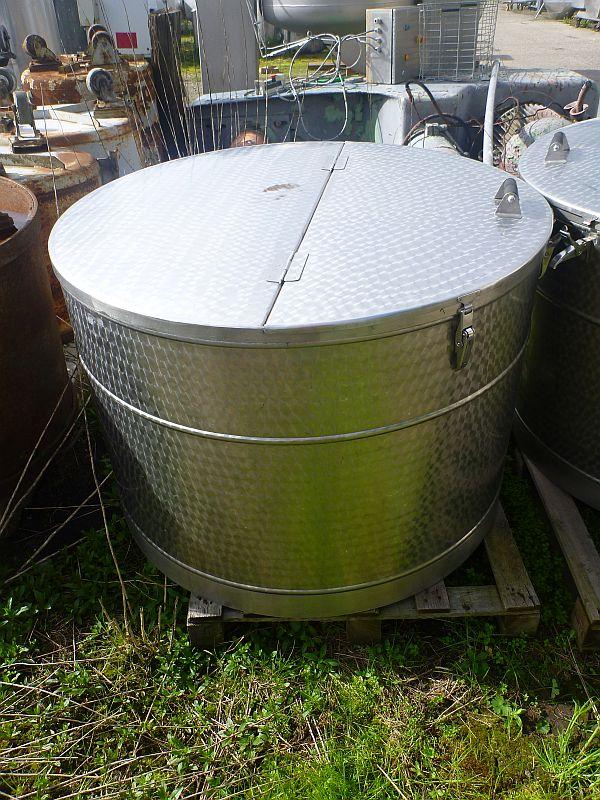 500 Liters Storage Vertical Tank 1040mm Dia x 670mm Depth