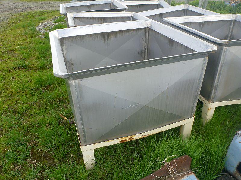 1000 Liters Stainless Steel Rectangular Storage Tank
