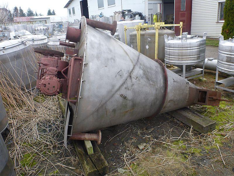 1,000 Liter Nauta Stainless Steel Conical Mixer