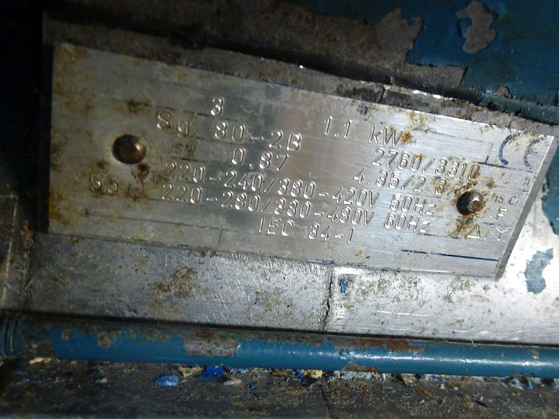1.1 KW SS    20 LTR GRONFA DSM 1100              ZL6000-PL