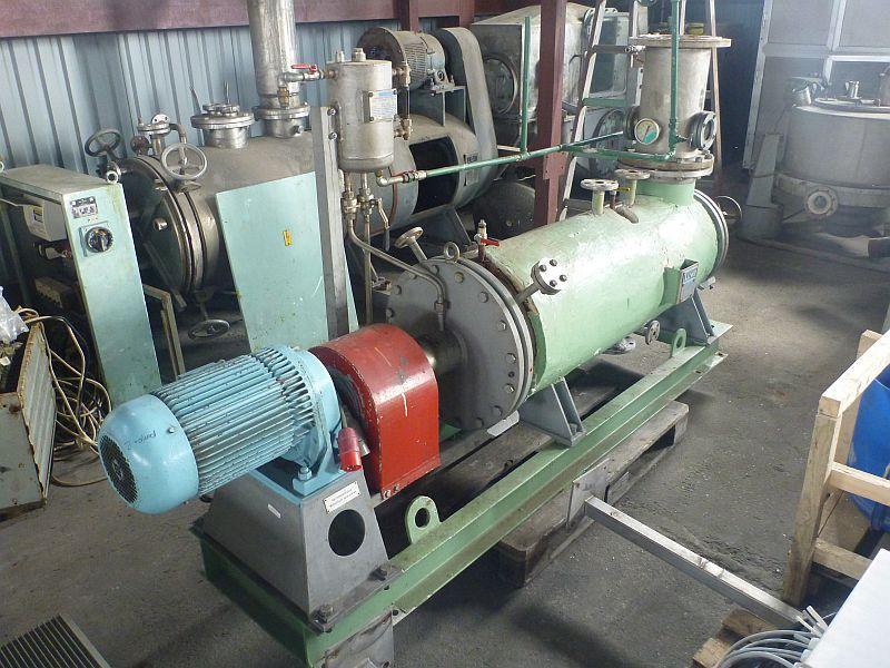 1 Sq. Meter Luwa Saco KH100 Surface Wiped Film Evaporator