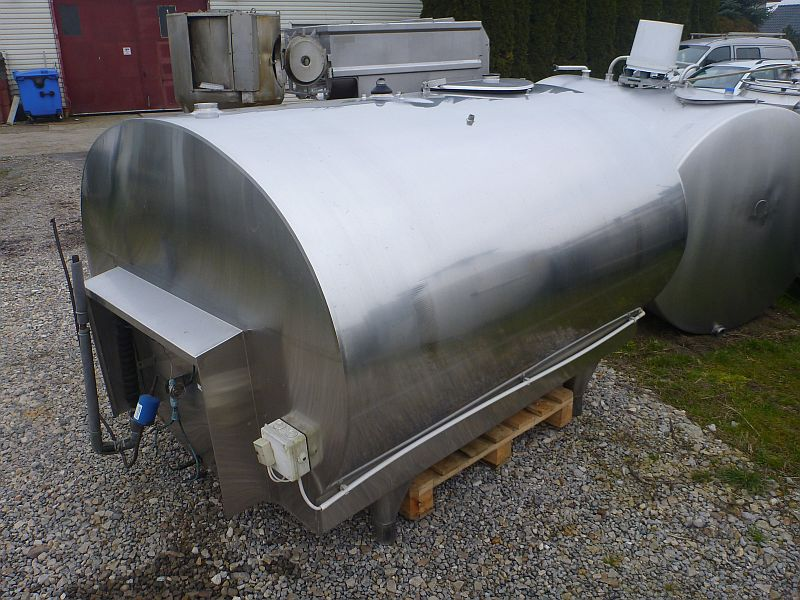 3000 Liter Stainless Steel Storage Tank, 1760mm X 1270mm X 1935mm