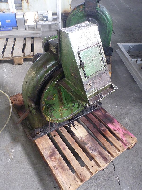 10 kW Jehmlich Type Record C Carbon Steel Beat Mill