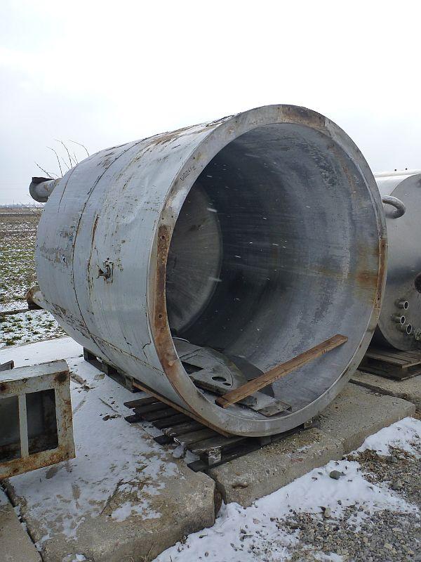 5600 Liter Stainless Steel Storage Tank, 1895mm Dia. X 1930mm Deep