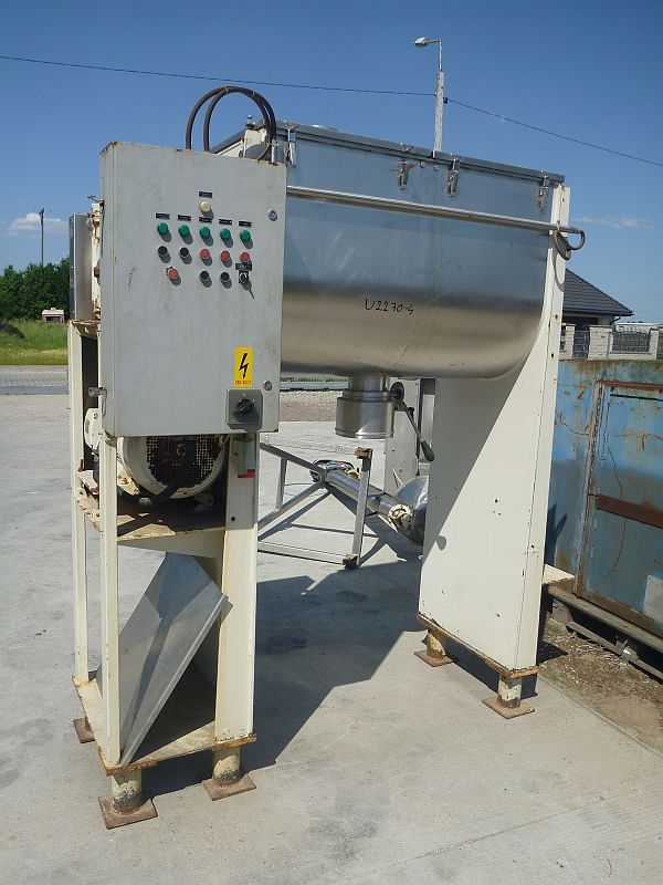 650 Litre Stainless Steel Ribbon Mixer
