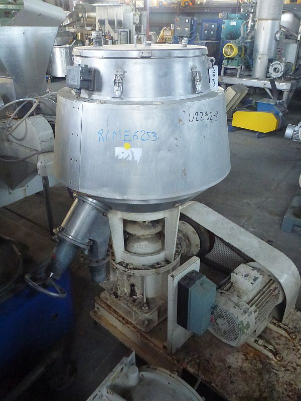 200 Liter Moritz Stainless Steel Universal Mixer