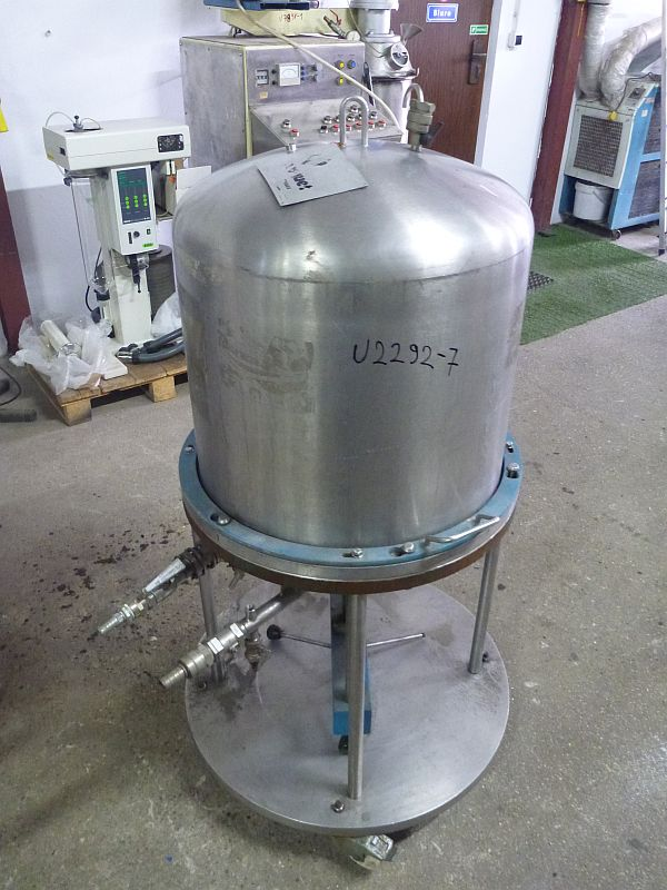 Vertical filter press by Gasquet 400 mm x 400 mm 1.2 m2 bakelite