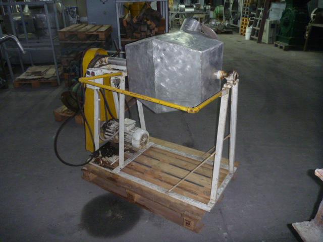 50 Liter total volume stainless steel tumbling mixer