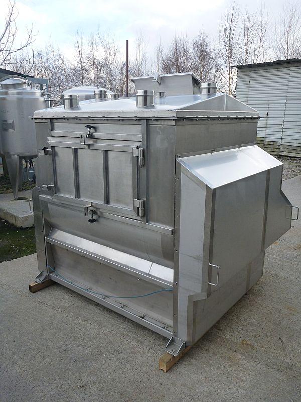 600 Liter Kates Stainless Steel Twin Shaft Paddle Powder Mixer