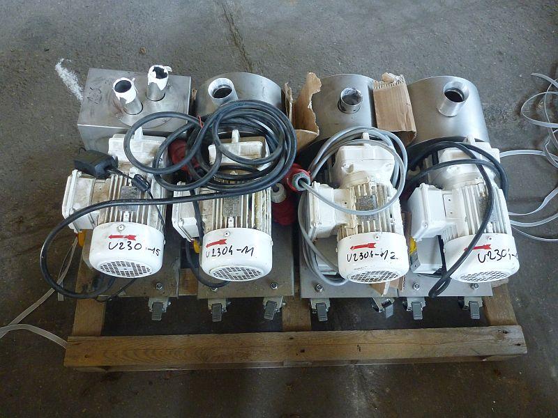 0.55 kW Cutting Mill Getecha Type SRS 100