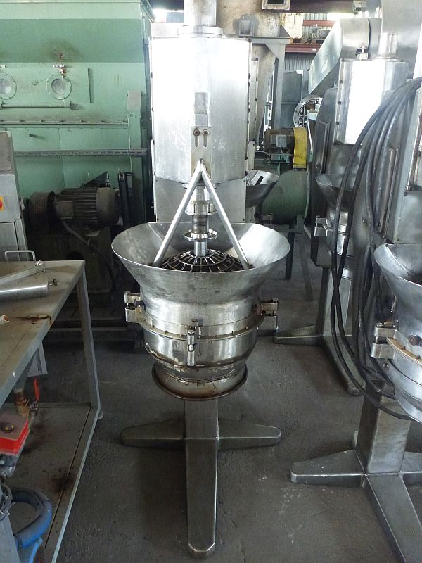 Metalchem Torun (Poland) Type PGM/K Stainless Steel vertical rotor granulator