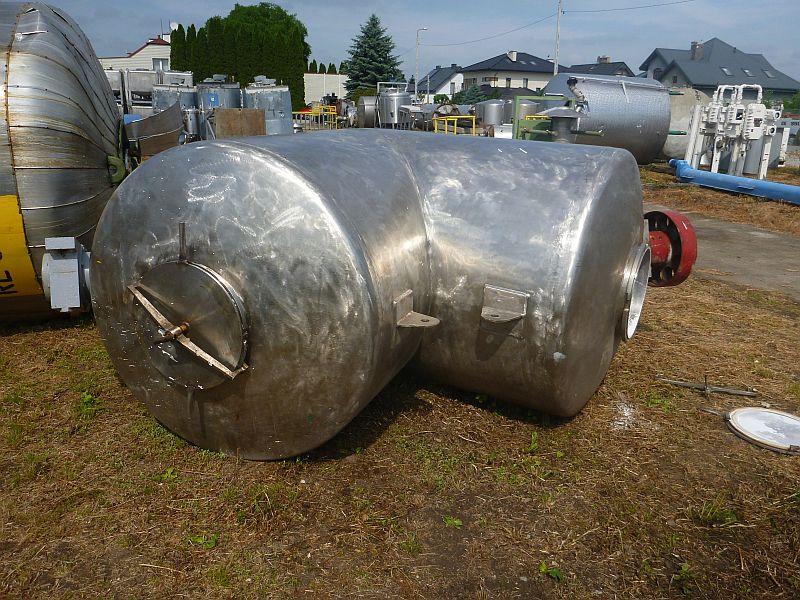 4500 l stainless steel V type tumbling blender