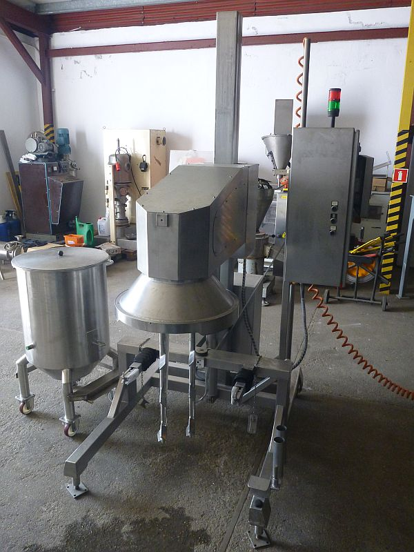 39 Gallon 10 HP Herbst Stainless Steel Planetary Mixer