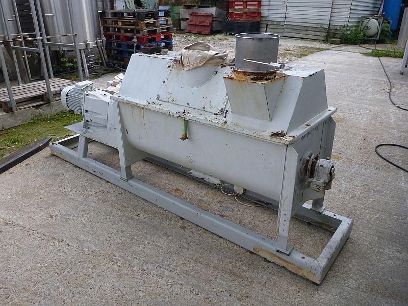 250 Liter Carbon Steel Paddle Powder Mixer