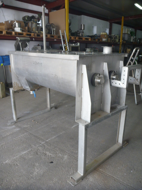 500 Liter Stainless Steel Twin Shaft Paddle Type Continous Work Mixer