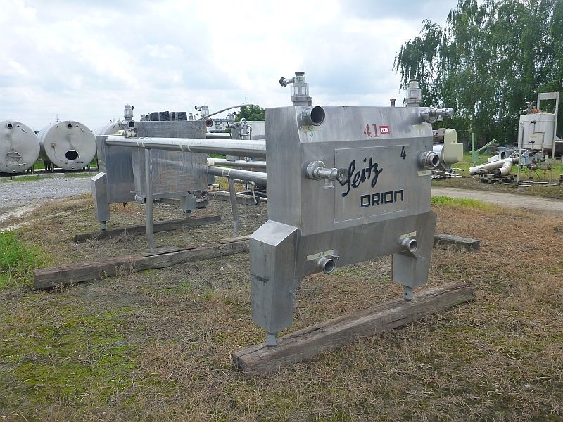 310 m2 Stainless Steel Clarifying Filter Press Seitz Orion