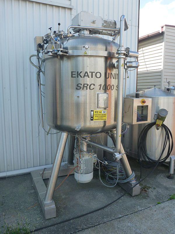 401 Gallon 27 HP Stainless Steel Unimix Ekato Homogenizing Mixer