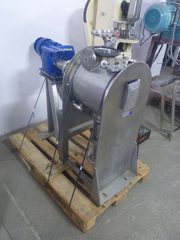 25 L Stainless Steel Paddle Mixer Kates With Jacket ATEX Design
