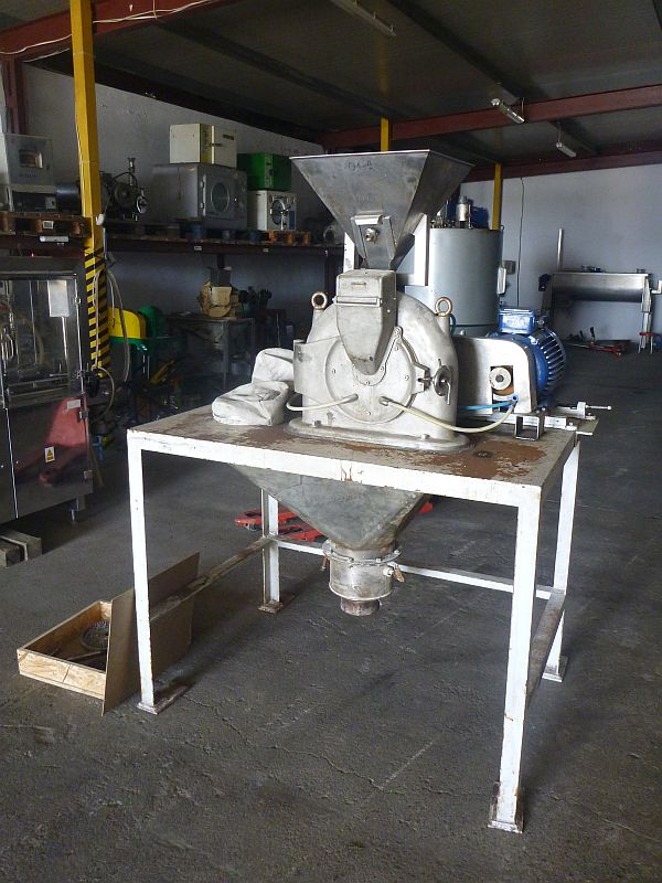 11 kW Condux Stainless Steel Pin Mill With Milling Plate 250 MM