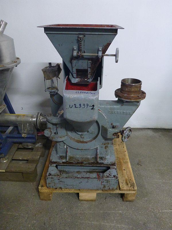 7.5 kW AGJ Model UC250 Carbon Steel Pin Mill