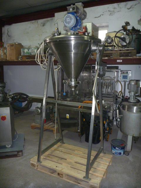 50 Liter Kates Model MS-01 Nauta Conical Mixer